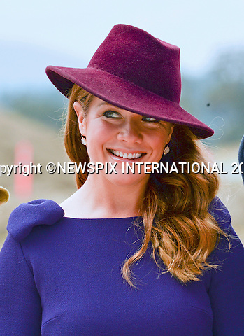 24.09.2016; Victoria, Canada: SOPHIE GREGOIRE TRUDEAU<br /> awaits the arrival of the Cambridges at Victoria Airport.<br /> The tour will take Royals to parts of both British Columbia and the Yukon.<br /> Mandatory Photo Credit: &copy;Francis Dias/NEWSPIX INTERNATIONAL<br /> <br /> IMMEDIATE CONFIRMATION OF USAGE REQUIRED:<br /> Newspix International, 31 Chinnery Hill, Bishop's Stortford, ENGLAND CM23 3PS<br /> Tel:+441279 324672  ; Fax: +441279656877<br /> Mobile:  07775681153<br /> e-mail: info@newspixinternational.co.uk<br /> Usage Implies Acceptance of OUr Terms &amp; Conditions<br /> Please refer to usage terms. All Fees Payable To Newspix International