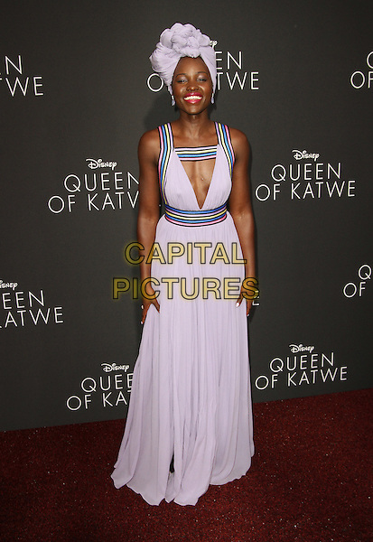 20 September 2016 - Hollywood, California - Lupita Nyong&rsquo;o. &ldquo;Queen Of Katwe&rdquo; Los Angeles Premiere held at the El Capitan Theater in Hollywood. <br /> CAP/ADM<br /> &copy;ADM/Capital Pictures
