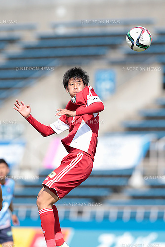 Koya Yuruki (U-22 J.League), <br /> APRIL 29, 2015 - Football /Soccer : <br /> 2015 J3 League match <br /> between Y.S.C.C.Yokohama 0-0 U-22 J.League selection <br /> at NHK Spring Mitsuzawa Football Stadium, Kanagawa, Japan. <br /> (Photo by AFLO SPORT)