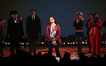 Barrett Doss and cast during the Broadway Opening Night Curtain Call Bows for 'Groundhog Day' at August Wilson Theatre on April 17, 2017 in New York City.