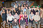 DOUBLE 21ST CELEBRATIONS: Christine O'Carroll (Milltown) seated centre left, with her parents Tim & Patricia and Emma Moriarty (Keel) seated centre right, with her parents Assumpta & Eugene, having a great time at their joint 21st birthday party held in the Grand Hotel on Thursday, December 20th.   Copyright Kerry's Eye 2008