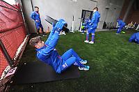 VOETBAL: HEERENVEEN: 03-01-2016, training sc Heerenveen, ©foto Martin de Jong