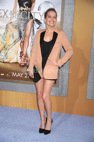 Becki Newton at the film premiere of 'Sex and the City 2' at Radio City Music Hall in New York City. May 24, 2010.Credit: Dennis Van Tine/MediaPunch