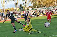 10.10.2013: Bayer Leverkusen vs. Fortuna Düsseldorf