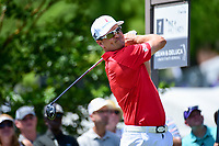 Zach Johnson (USA) watches his tee shot on 7 during round 2 of the Dean &amp; Deluca Invitational, at The Colonial, Ft. Worth, Texas, USA. 5/26/2017.<br /> Picture: Golffile | Ken Murray<br /> <br /> <br /> All photo usage must carry mandatory copyright credit (&copy; Golffile | Ken Murray)
