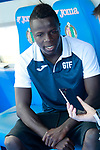 Getafe's Amath Ndiaye during interview. September 12,2017.(ALTERPHOTOS/Acero)