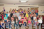21ST: What a 21st Birthday party Sadbh Lawlor from Abbeydorney seated 6th from left as hundreds of her friends and her family attended her 21st at Kerins O'Rahillys GA A Club, Tralee on Saturday.....