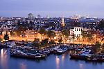 Blick auf Amsterdam gen Süden