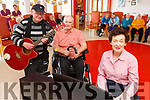 """Johnny Moriarty, Michael McCarthy and Rene Fitzgibbon launch the Baile Mhuire variety concert """"A Little Help from my Friends"""" which is going ahead on Sunday May 12th."""