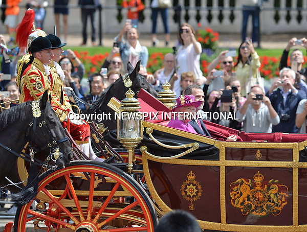 12.07.2017, London; UK: KING FELIPE AND QUEEN LETIZIA OF SPAIN<br />