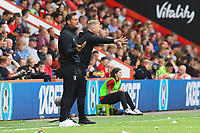 AFC Bournemouth Assistant Manager Jason Tindall and AFC Bournemouth Manager Eddie Howe get animated on the sideline during AFC Bournemouth vs Sheffield United, Premier League Football at the Vitality Stadium on 10th August 2019