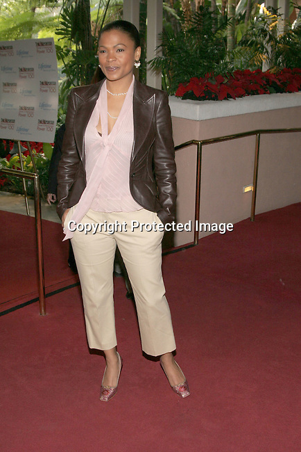 Nia Long<br />The Hollywood Reporter&rsquo;s Annual Women In Entertainment Power 100 Breakfast<br />Beverly Hills Hotel<br />Beverly Hills, CA, USA<br />Tuesday, December 7th, 2004 <br />Photo By Celebrityvibe.com/Photovibe.com, <br />New York, USA, Phone 212 410 5354, <br />email: sales@celebrityvibe.com