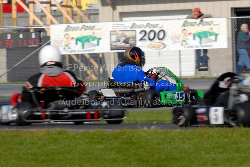 Peirce Williams (15) accelerates out of the inner hairpin...Copyright©F.Peirce Williams 2006.ref.Digital Image Only