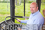 JOB HOPES: Gordon Sheehy from Listowel whose bus and truck driving school has teamed up with a UK bus company offering jobs to young qualified Irish drivers.