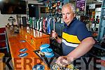 Michael Parker in his pub in Kilflynn on Monday.