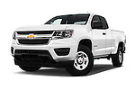 Stock pictures of low aggressive front three quarter view of 2016 Chevrolet Colorado 2WD wt Extended Cab 3 Door Pick-up Low Aggressive