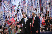Boston, MA - July 29, 2004 -- United States Senator John F. Kerry (Democrat of Massachusetts) accepts the 2004 Democratic Party nomination for President of the United States in Boston, Massachusetts on July 29, 2004..Credit: Dennis Brack - Pool