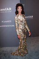 NEW YORK, NY - FEBRUARY 6: Chey Carty arriving at the 21st annual amfAR Gala New York benefit for AIDS research during New York Fashion Week at Cipriani Wall Street in New York City on February 6, 2019. <br /> CAP/MPI99<br /> &copy;MPI99/Capital Pictures