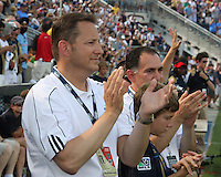 CEO Nick Sakiewicz during the first MLS match at PPL stadium in Chester, Pa. on June 27 2010. Union won 3-1.