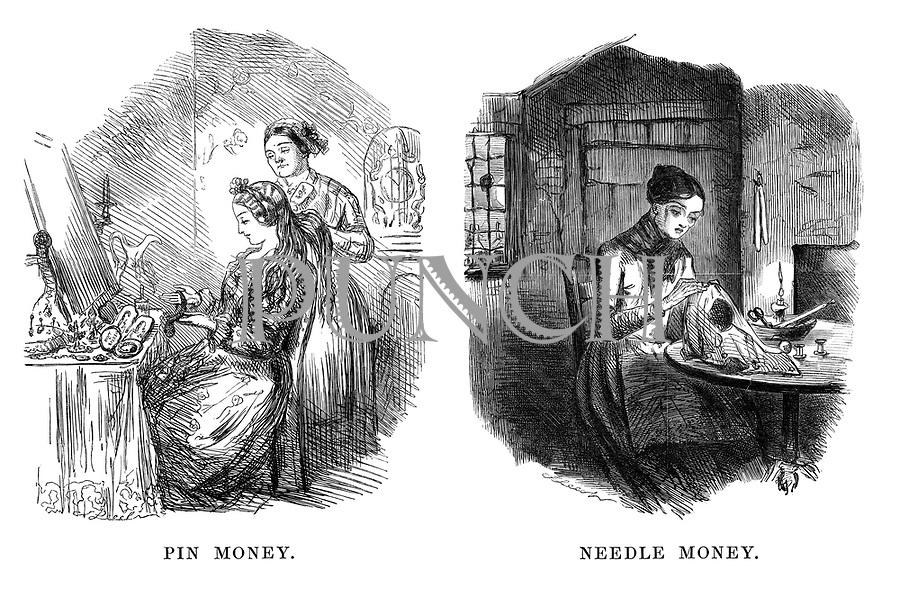Pin Money. Needle Money.