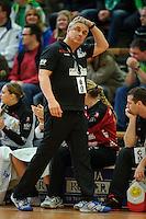Trainer Dirk Leun (BSV) nachdenklich