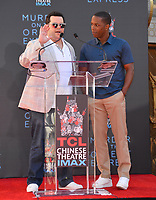 Josh Gad &amp; Leslie Odem Jr. at the hand &amp; footprint ceremony for Kenneth Branagh at the TCL Chinese Theatre, Hollywood. Los Angeles, USA 26 October  2017<br /> Picture: Paul Smith/Featureflash/SilverHub 0208 004 5359 sales@silverhubmedia.com