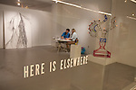 Here is Elsewhere Gallery inside the Pacific Design Center, West Hollywood, CA