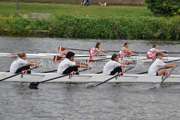 Thames Ditton Regatta.W J14 4X+.Emanuel School.Kingston Grammar School