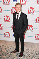 George Rainsford<br /> arriving for the TV Choice Awards 2017 at The Dorchester Hotel, London. <br /> <br /> <br /> &copy;Ash Knotek  D3303  04/09/2017