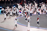 South Korea Delegation (KOR),  <br /> MARCH 9, 2018 - : <br /> PyeongChang 2018 Paralympics Winter Games Opening Ceremony <br /> at PyeongChang Olympic Stadium in Pyeongchang, South Korea. <br /> (Photo by Yusuke Nakanishi/AFLO SPORT)