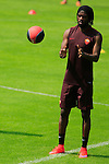 AS Roma's Football player Gervinho in action during the AS Roma football training camp at Pinzolo, on July 7, 2015.