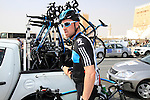 Bernhard Eisel (AUT) Sky Procycling before the start of the 1st Stage of the 2012 Tour of Qatar running from Umm Slal Mohammed to Doha Golf Club, Doha, Qatar, 5th February 2012 (Photo Eoin Clarke/Newsfile)