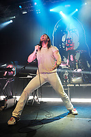 LONDON, ENGLAND - APRIL 14: Andrew W.K. (Andrew Fetterly Wilkes-Krier) performing at The Forum on April 14, 2018 in London, England.<br /> CAP/MAR<br /> &copy;MAR/Capital Pictures
