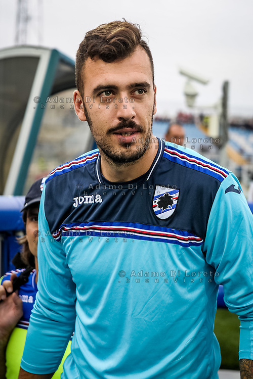 Viaviano Emiliano (Sampdoria) during the Italian Serie A football match Pescara vs Sampdoria on October 15, 2016, in Pescara, Italy. Photo Adamo Di Loreto/BuenaVista*photo