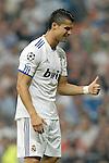 MADRID (15/(09/2010).- Champions League match Real Madrid vs Ajax Amsterdam. Cristiano Ronaldo...Photo: Cesar Cebolla / ALFAQUI