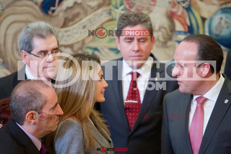 Spain's princess Letizia during audiences. February 27, 2013. (ALTERPHOTOS/Alvaro Hernandez) /NortePhoto