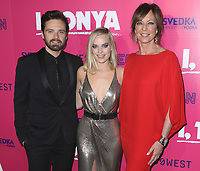 "LOS ANGELES- DECEMBER 5:  Sebastian Stan, Margot Robbie and Allison Janney at the Los Angeles Premiere of Neon and 30 West's ""I, Tonya""  at the Egyptian Theater on December 5, 2017 in Los Angeles, California. (Photo by Scott Kirkland/PictureGroup)"
