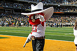 Texas Tech Mascot in action during the game between the Texas Tech Red Raiders and the Baylor Bears at the McLane Stadium in Waco, Texas.