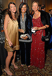 "Colleen Dippel, Sultana Mangalji and Sarah Foshee at the Children's Museum ""Road to Rio"" Gala at The Corinthian Friday Oct. 19,2007.  (Dave Rossman/For the Chronicle)"