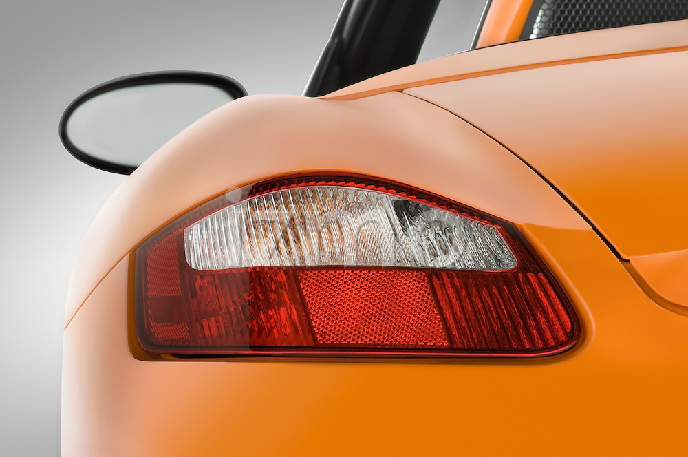 Tail light close up detail of a 2008 Porsche Boxster LE