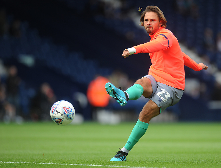 Blackburn Rovers' Bradley Dack during the pre-match warm-up <br /> <br /> Photographer Kevin Barnes/CameraSport<br /> <br /> The EFL Sky Bet Championship - West Bromwich Albion v Blackburn Rovers - Saturday 31st August 2019 - The Hawthorns - West Bromwich<br /> <br /> World Copyright © 2019 CameraSport. All rights reserved. 43 Linden Ave. Countesthorpe. Leicester. England. LE8 5PG - Tel: +44 (0) 116 277 4147 - admin@camerasport.com - www.camerasport.com