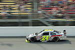 June 14 2009:  Jeff Gordon races in the LifeLock 400 at Michigan International Speedway in Brooklyn, MIchigan.