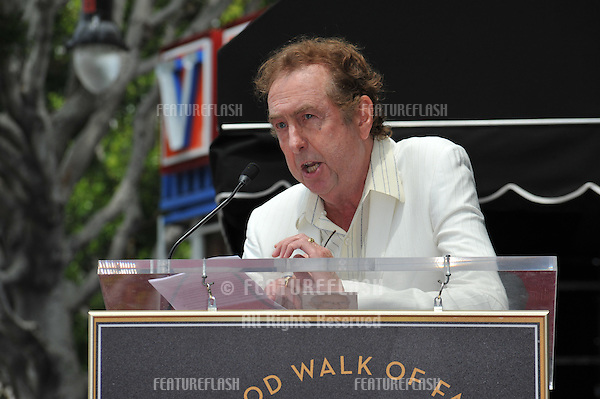 Eric Idle on Hollywood Boulevard where composer Randy Newman was honored today with a star on the Hollywood Walk of Fame..June 2, 2010  Los Angeles, CA.Picture: Paul Smith / Featureflash