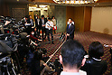 Akio Toyota, March 26, 2014 : a conference held by directors of Tokyo Organizing Committee of the Olympic and Paralympic Games <br /> in Tokyo, Japan. (Photo by Yohei Osada/AFLO SPORT)