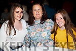 Having a good night at the Bons Secour Tralee SYNC'IT for Sudan in Brandon Hotel,Tralee on Saturday night, Grace,Annette and Danielle Garland