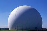 AMHK84 The Golf Ball RAF radar installation Mundesley Trimingham Norfolk England