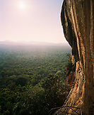 SRI LANKA, Asia, high angle view of a Sigiriya Fortress