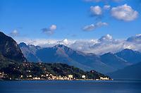 Comer See, Lombardei, Italien