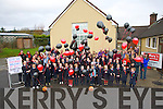 UP-UP & AWAY: On Friday morning Balloons away by the pupils of Curranes NS to launch the 44th St Mary's Basketball Christmas Blitz in, Castleisland over the six days of the festive season Friday.On Thursday night in the An Tochar,Adult Eduaction Centre, Causeway the Fetac awards were presented to graduates who completed their course by CEO Kerry Education & Training Colin McEvoy.