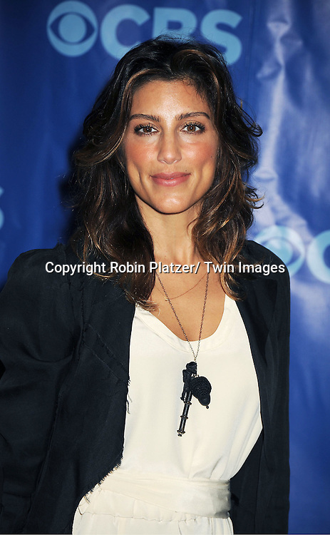 Jennifer Esposito attending The CBS Upfront announcement of the Prime Time 2011-2012 Season on May 18, 2011 at Damrosch Park in  Lincoln Center in New York City.